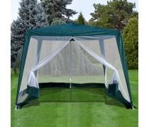 Садовый шатер с москитной сеткой 3x3x2.4m (AFM-1035NA Green)(AM)