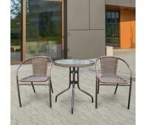 Комплект мебели для балкона Асоль-1А (TLH-037A/087A)(AM)