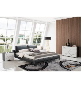 Кожаная кровать ESF 1150