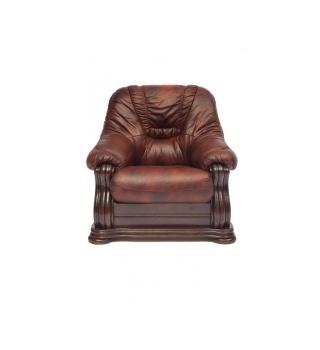 Кресло из натуральной кожи «Гольцмаер»