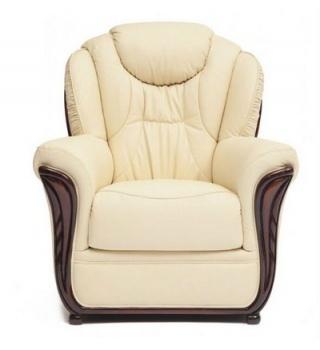 Кресло из натуральной кожи «Маэстрал»