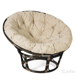 Плетеное кресло из ротанга Papasan Папасан