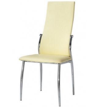 Стильный стул 2368 жёлтый