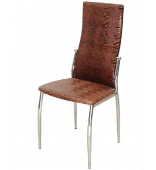 Стильный стул 2368 А4 под крокодиловую кожу