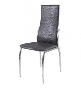 Современный стул 2368 А9 под крокодиловую кожу