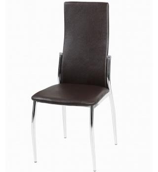 Стильный стул 2368 коричневый