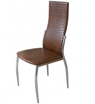 Стильный стул 2368 А7 под крокодиловую кожу