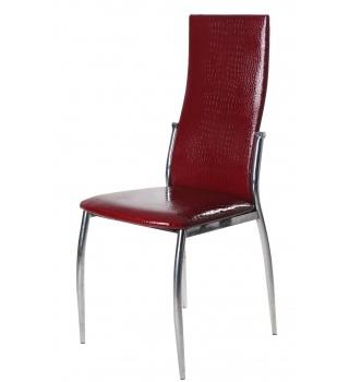 Стильный стул 2368 А11 под крокодиловую кожу