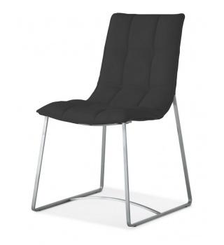 Современный стул на металлическом каркасе BZ500S черный