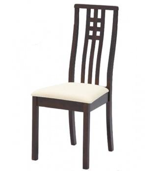 Деревянный стул BETTY в цвете капучино