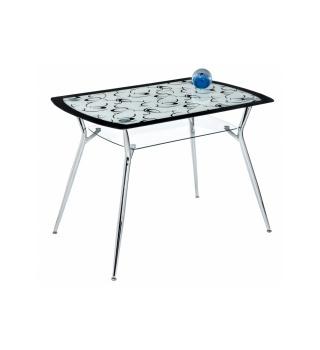 Стеклянный стол Line 105