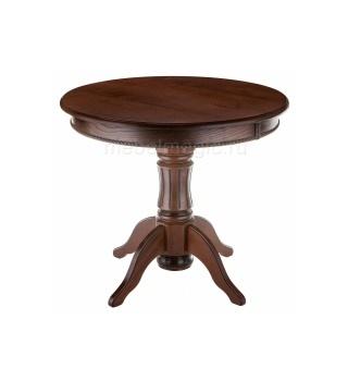 Деревянный стол Павия орех с коричневой патиной