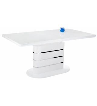 Стол Plas 140 super white