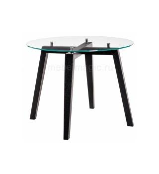 Стеклянный стол Ларс венге
