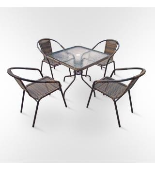 Комплект мебели для летних кафе Nicole-2А