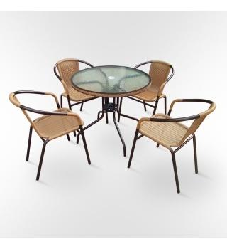 Набор мебели для летних кафе Nicol -1А