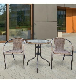 Комплект мебели для летнего кафе Asol-1A