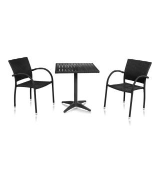 Комлект мебели для кафе из искусственного ротанга Siena-2