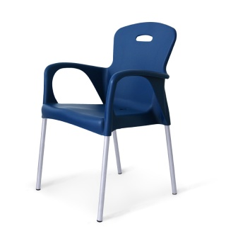 Пластиковый стул для кафе Remy
