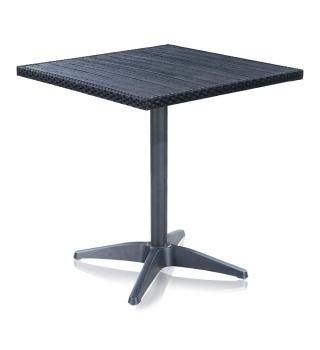 Стол кофейный из искусственного ротанга