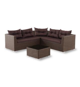 Модульный комплект мебели из искусственного ротанга