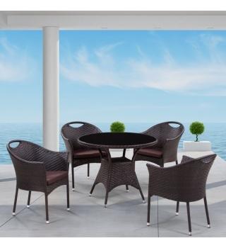 Комплект мебели из искусственного ротанга Napoli-1