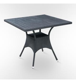 Стол из искусственного ротанга - 87 x 87 sm.