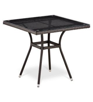 Плетёный стол из искусственного ротанга