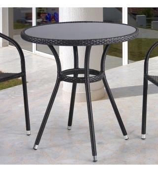Плетёный стол изискусственного ротанга