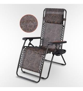 Кресло шезлонг для дачи Фея Релакс-12B