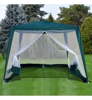 Садовый тент шатер с москитной сеткой-3x3x2.4m.