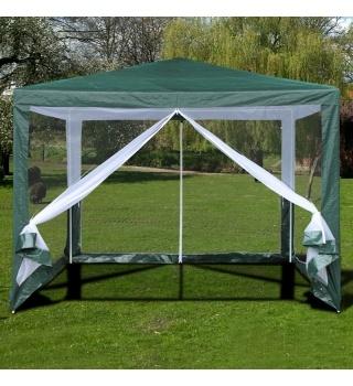 Садовый тент шатер с москитной сеткой-3x3m.