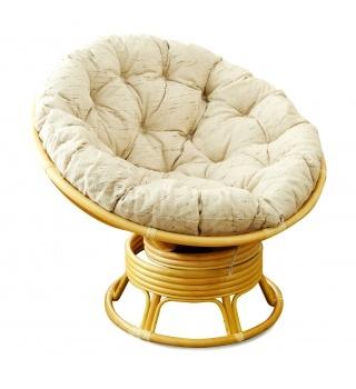Плетеное кресло-качалка из ротанга Papasan