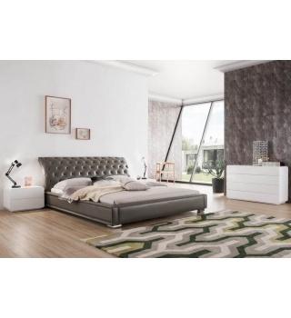 Кожаная кровать ESF 1397