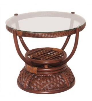Плетёный из ротанга кофейный стол Andrea Андреа