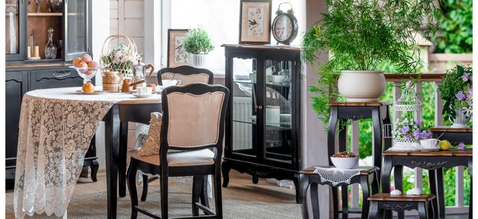 Мебель в стиле Прованс - коллекция Нуар